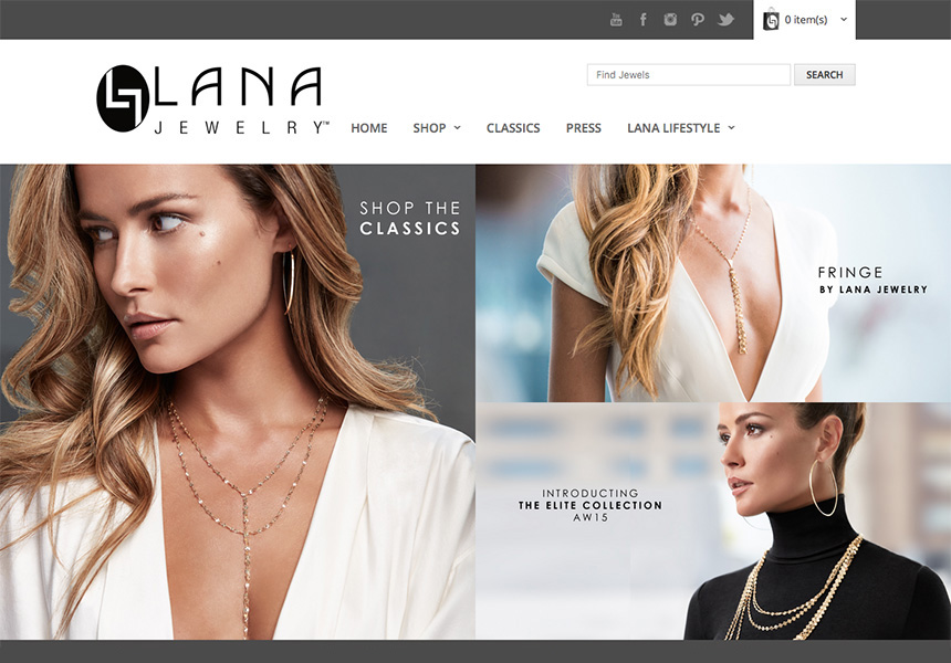 Lana Unlimited Chicago Web Design